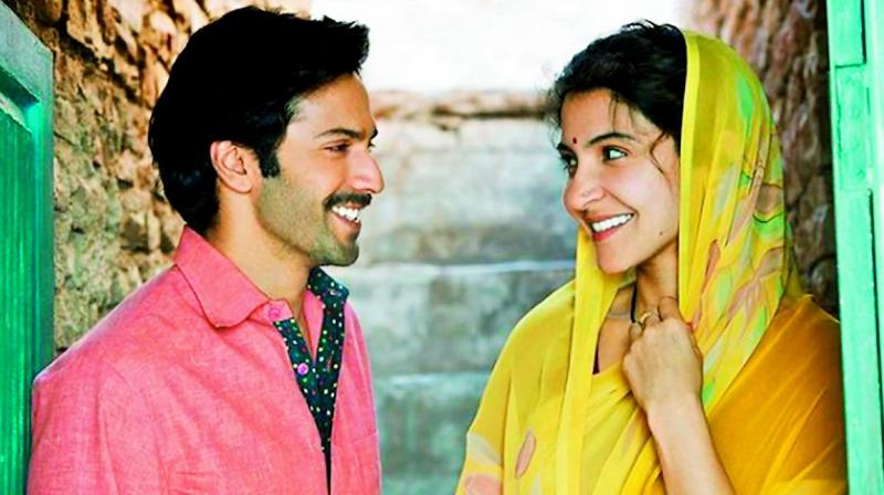 Still from the movie Sui Dhaaga — Made in India