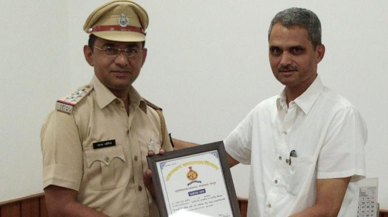 An IPS officer of the 1986-batch, Singh is a recipient of the President's police medal (2016) and police medal (2002) for distinguished services. (Photo: Twitter | @parasjangid)