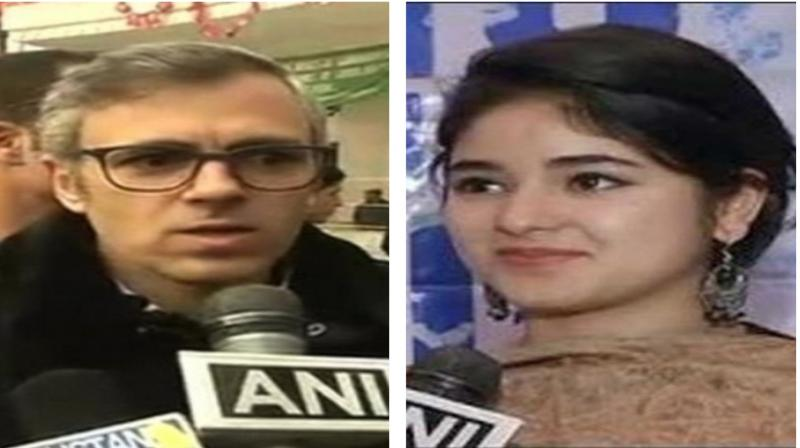 Former Jammu and Kashmir chief minister Omar Abdullah tweeted, 'I wish her well and hope that what ever she does makes her happy.' (Photo: ANI)