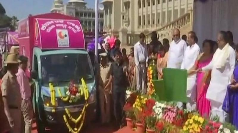 Various branches of the Saviruchi women canteen will be further opened in all the district offices of Karnataka. (Photo: ANI)