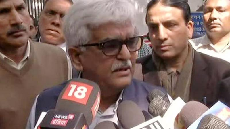 AAP MLAs, Prakash Jarwal and Amanatullah Khan are accused of allegedly assaulting the Chief Secretary on the night of February 19, during a meeting with Delhi Chief Minister Arvind Kejriwal at his residence. (Photo: ANI)