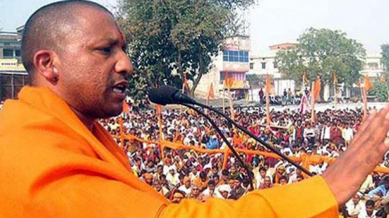 UP farmers throw potatoes at Adityanath's residence to protest govt policies