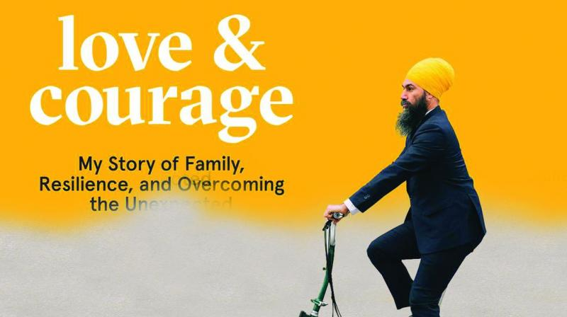 Love & Courage: My Story of Family, Resilience, and Overcoming the Unexpected by Jagmeet Singh Simon and Schuster, Rs 499,