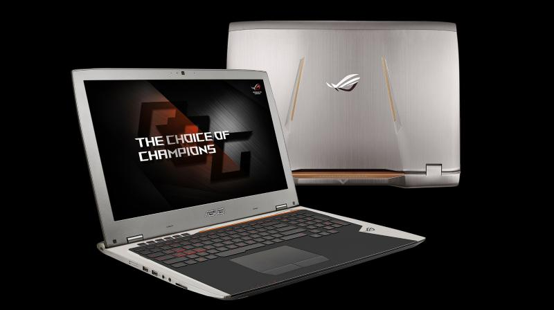 The ROG G701 sports a 4K display with a 120Hz panel that is aided by NVIDIA's G-Sync technology.