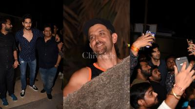 On the occasion of Chath Puja, Hrithik Roshan, who often keeps it low-key on other occasions, was spotted at the terrace. Not only that, celebs celebrated Milap Zaveri's birthday too.