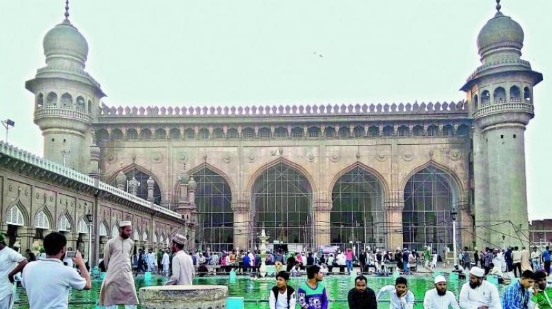 A file photo of the Macca Masjid