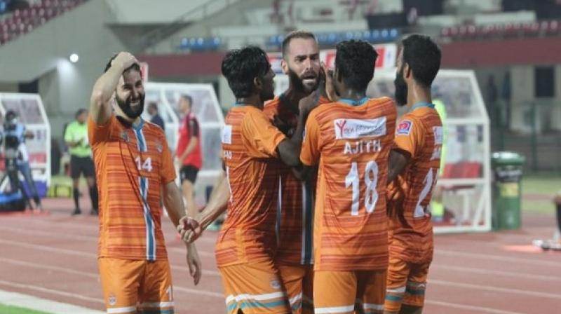 I-League 2018-19 champions Chennai City, meanwhile, progressed to the semi-finals and will back themselves to clinch the double this season. (Photo: AIFF Media)