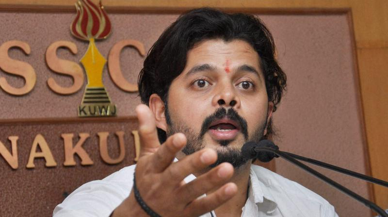 BCCI has said that since its disciplinary committee, which had earlier dealt with Sreesanth's matter is no longer operational, the matter be referred to the ombudsman appointed by the apex court. (Photo: PTI / File)
