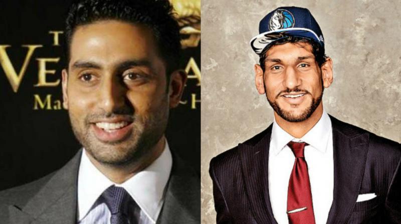 Satnam Singh Bhamara is aware of Abhishek's love for basketball.