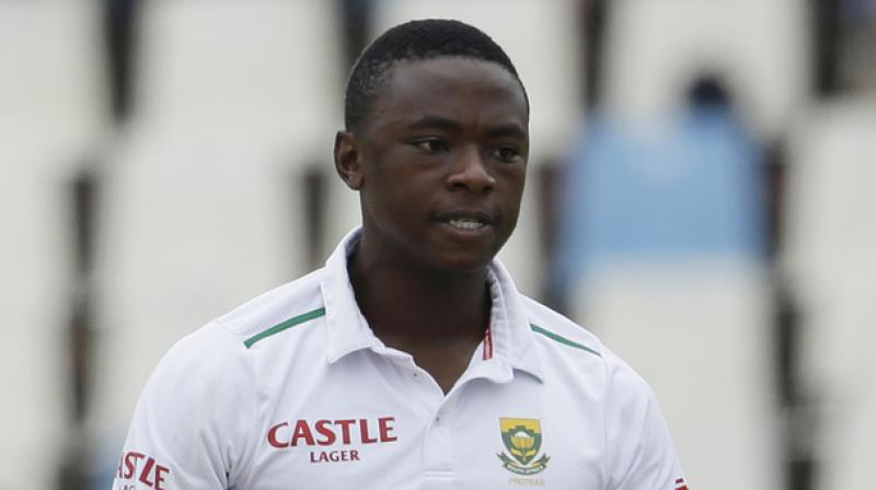 Kagiso Rabada, 22, uttered an audible obscenity after dismissing all-rounder Stokes on the first day of the first Test on Thursday, his latest offence triggering a one-Test ban. (Photo: AP)