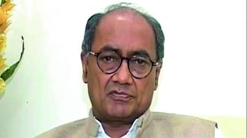 "Senior Congress leader Digvijaya Singh on Thursday alleged that the Centre was adopting ""step-motherly behaviour"" towards Madhya Pradesh and asked former Chief Minister Shivraj Singh Chouhan to take up the issue to Prime Minister Narendra Modi. (Photo: File)"