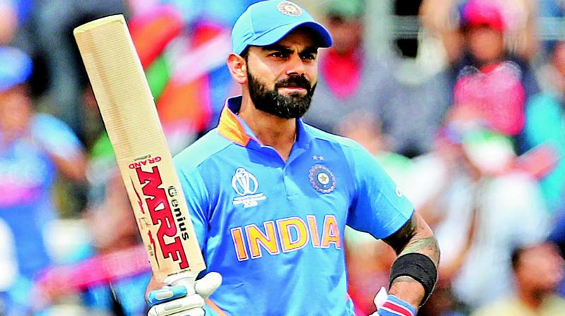 ICC CWC'19: Virat Kohli becomes fastest player to score 11000 ODI runs