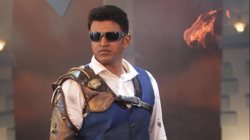 Puneeth Rajkumar.
