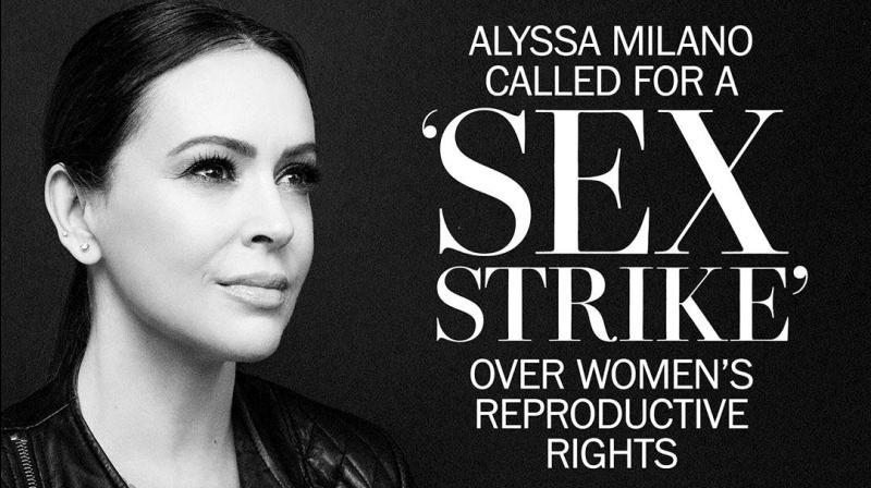 "Hollywood actress Alyssa Milano took to Twitter encouraging women to go on a ""sex strike"" in protest. (Photo: Instagram/milano_alyssa)"