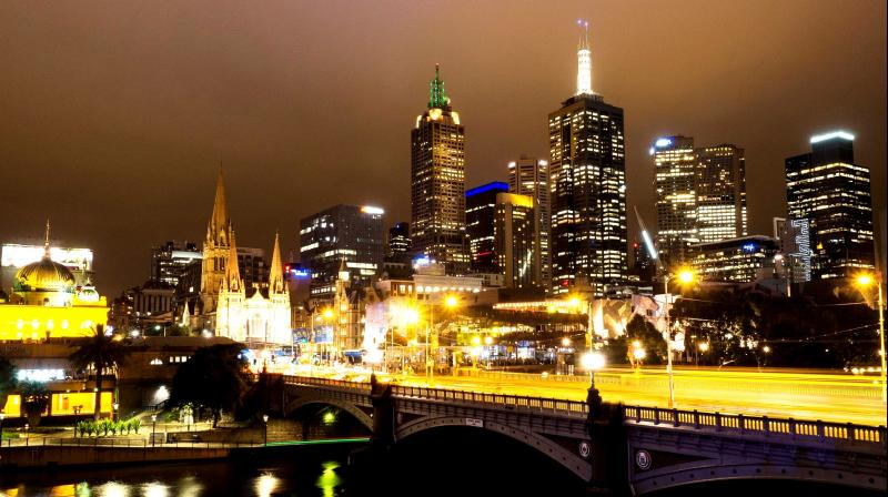The Melbourne Central Business District skyline at night. (Photo: Pixabay)