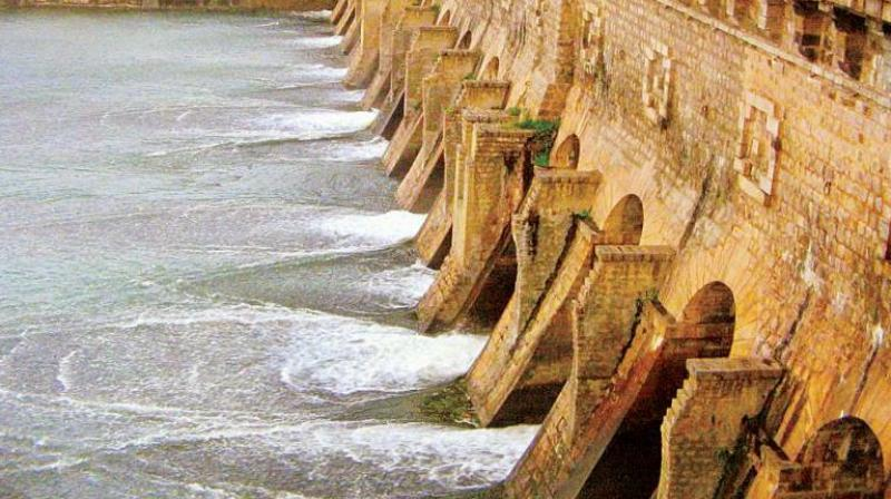 Krishnaraja Sagar DamEngineers said that the inevitable blasting required for excavation for the foundation of the 125-foot-high statue and making a deep excavation so close to KRS dam can endanger the dam..