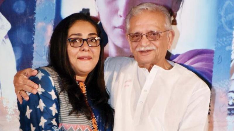 When Gulzar was called on stage during the success party of his daughter Meghna's film, Raazi.