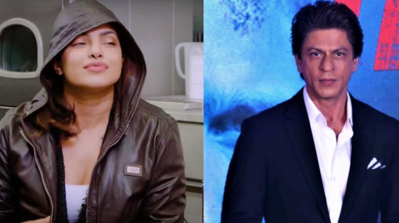 (Clockwise) Priyanka Chopra has the highest percentage of real followers, SRK has the highest  percentage  of fake  followers