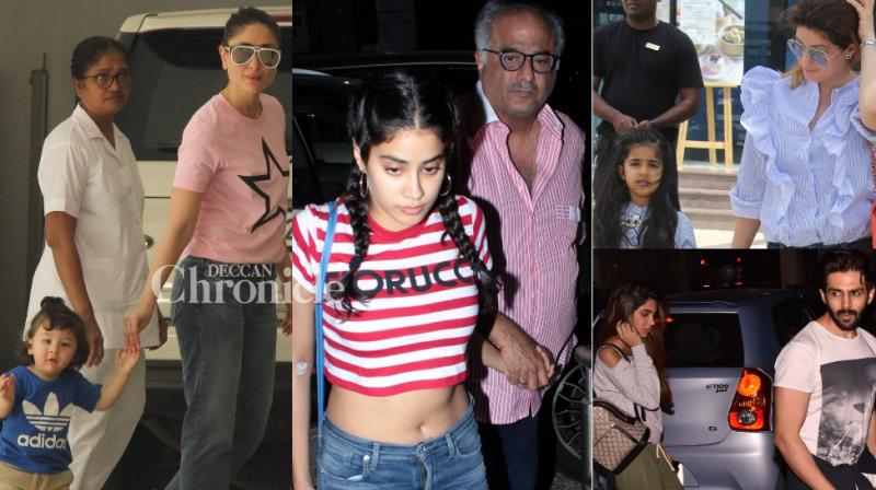 Sunday equals day with loved ones for Bollywood celebrities as they were spotted with their family members or lovers in the city. (Photo: Viral Bhayani)