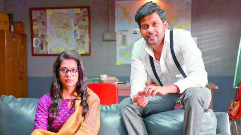 Popular Youtube star Naveen Polisetty has turned lead actor with his forthcoming film, Agent Sai Srinivas Atreya, which also happens to be Swaroop's debut directorial.