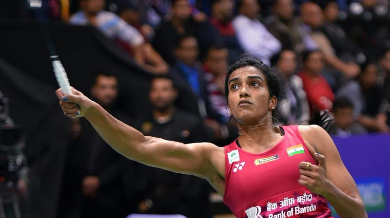 Besides the World Championships final, Sindhu has reached the summit clash of only one BWF World Tour Final this year -- the Indonesia Open Super 1000 -- but the title eluded her. (Photo: PTI)