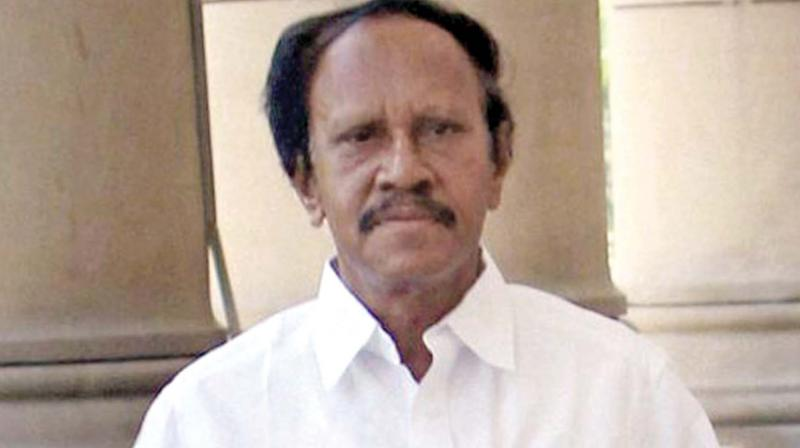AIADMK leader M. Thambidurai