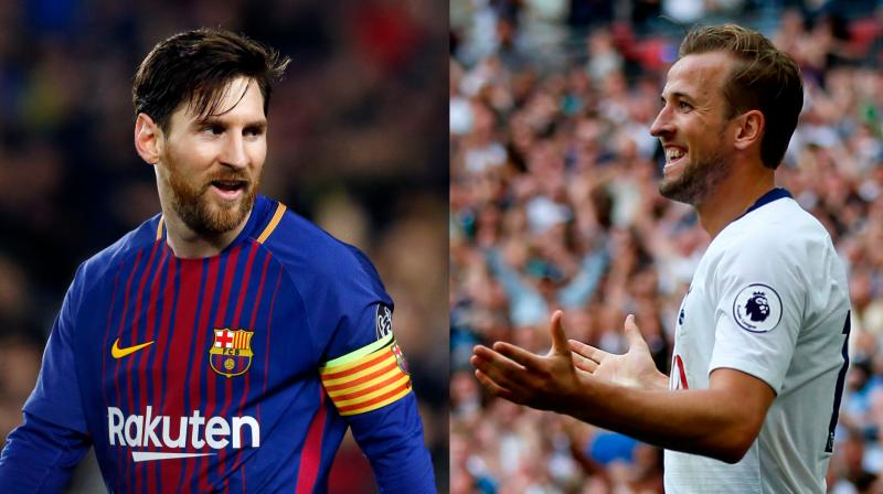 41c19fd52 Champions League  Harry Kane plans to emulate Messi s goal spree as ...