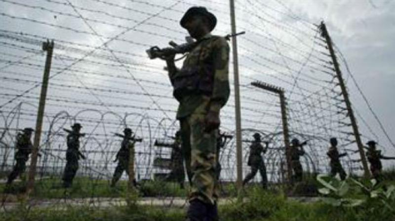 The Pakistani army had also initiated indiscriminate firing of small arms, automatic and mortar shells from 0930 hours yesterday on Indian Army posts along the LoC in Digwar area in Poonch sector. (Photo: Representational Image)