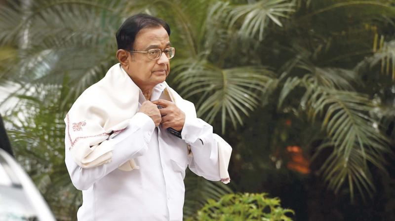 P Chidambaram was asked to depose before investigating officer of the case to record his statement under the PMLA and was given a time for Monday, officials said. (Photo: File)