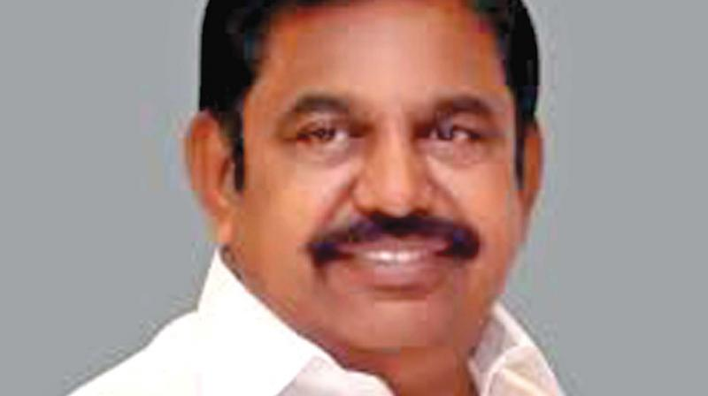 Tamil Nadu CM Edappadi K. Palaniswamy. (Photo: File)