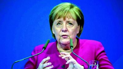 "We have agreed to co-operate on climate protection and green urban mobility and have earmarked 1 billion euros towards this,"" German Chancellor Angela Merkel said in New Delhi on Saturday. (Photo: File)"