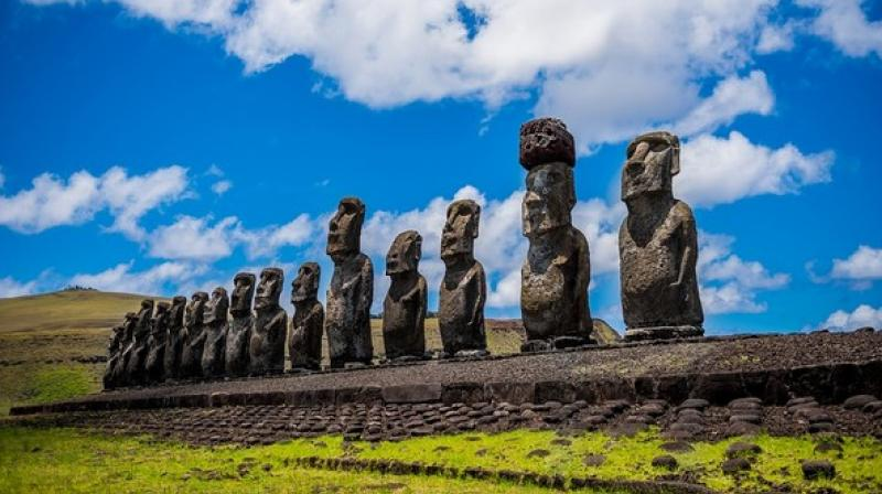 There are a number of mysteries surrounding the Easter Island. (Photo: ANI)