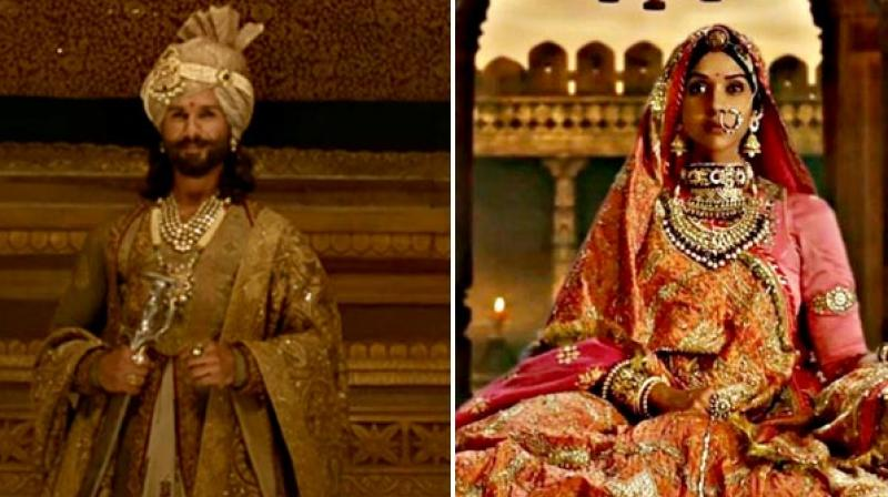 Padmavati's Ghoomar song is getting million views on Youtube.