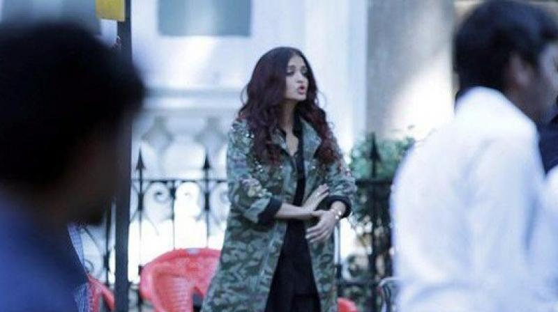 Aishwarya Rai Bachchan is currently shooting for Rakyesh Omprakash Mehra's Fanney Khan alongside Anil Kapoor.