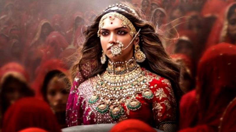 The group alleges of distortion of facts about Rani Padmini. Deepika Padukone will be seen in the titular role (in picture).