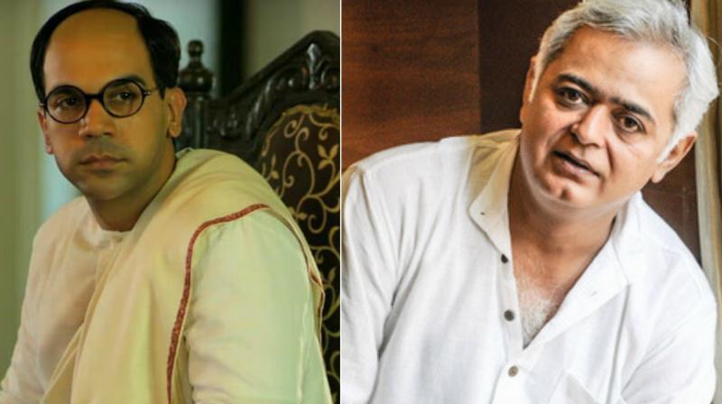 Rajkummar Rao in Bose Dead/Alive (L), Hansal Mehta (R).