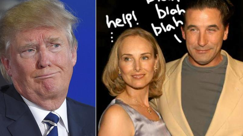 Actor Billy Baldwin accuses President Donald Trump of hitting on hi wife
