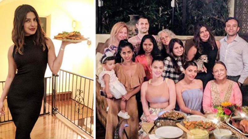 Priyanka Chopra celebrates Thanksgiving by feasting with family and friends