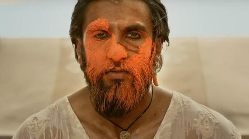 Image result for Ranveer In Padmavati