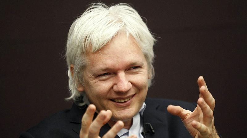 WikiLeaks founder Julian Assange speaking at a news conference in central London. His arrest reignites a debate about Assange, former computer hacker and founder of WikiLeaks, being a journalist or not. (Photo: AP)