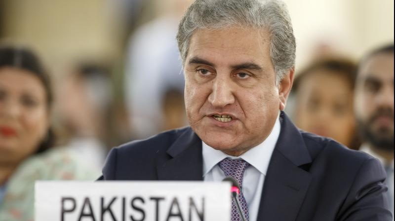 The Foreign Minister said public life in Pakistan Administrated Kashmir is free, while around four thousand Kashmiris have been detained in Kashmir by the Indian forces. (Photo: AP)