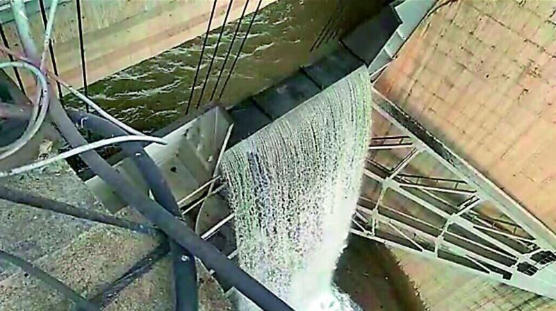 Srisailam damRise in inflows into the Srisailam dam led to an overflow. Engineering staff failed to assess the quantum of inflows and opened only six gates to a height of 23 feet.