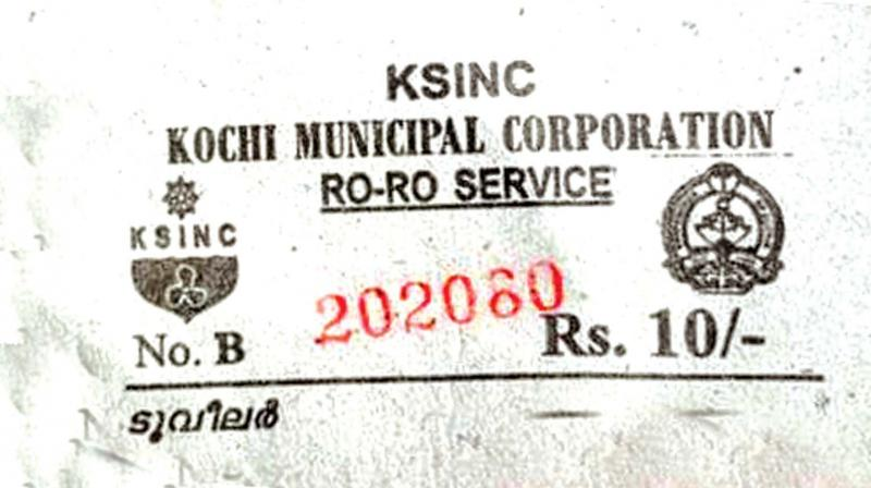 The printed ticket issued by KSINC in violation of corporation's directions.