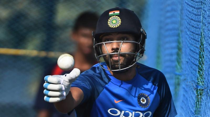Rohit Sharma has smashed a double hundred in ODIs and joint- fastest century in T20s against Sri Lanka but runs deserted him in the first Two Tests in South Africa before he was dropped for the third Test.(Photo: PTI)