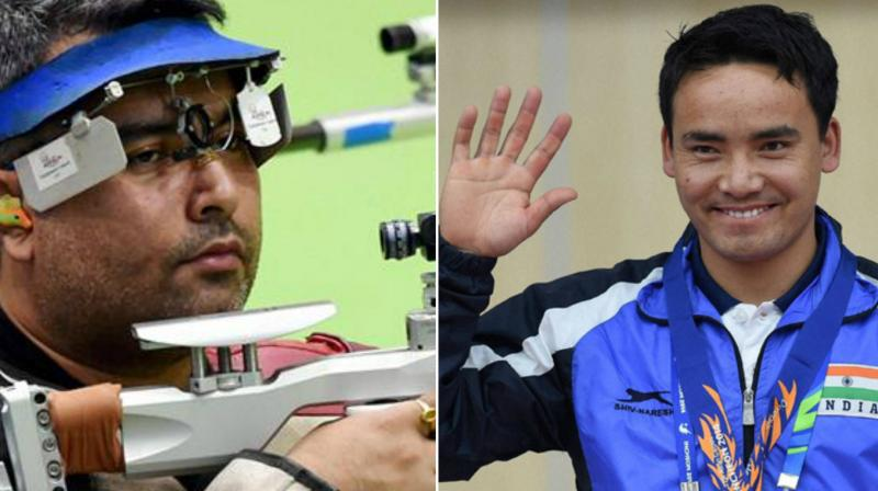 The National Rifle Association of India (NRAI) announced the full quota of 27 shooters (25 men and 12 women) after the Organising Committee of the Games reduced the country quotas across sports.(Photo: PTI)