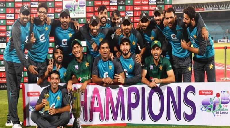 Pakistan will next take on Sri Lanka in the T20 series starting from October 5. (Photo: PCB/Twitter)