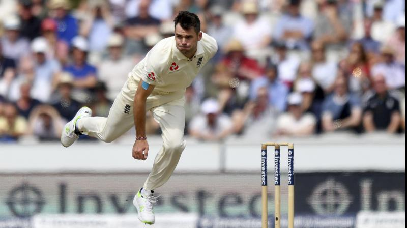 Anderson has taken 487 wickets at 27.90 apiece in 126 Tests but his 43 on Australian soil have come at a more expensive average of 38.44. (Photo:AP)