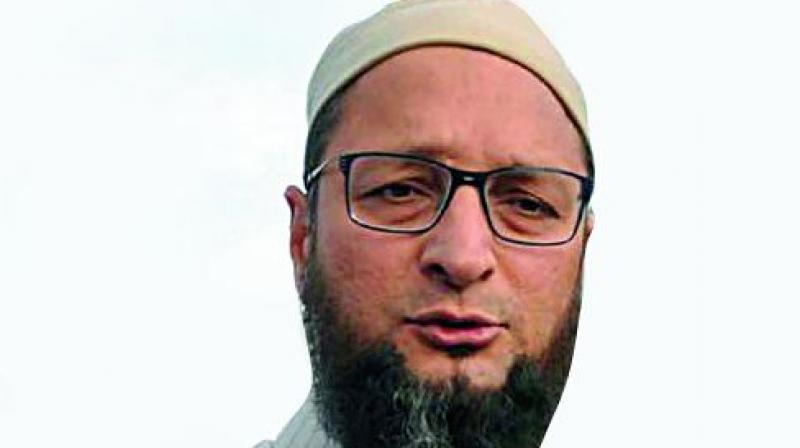 'Hindu Rashtra is a flight of fantasy borne out of insecurities,' Owaisi said. (Photo: File)