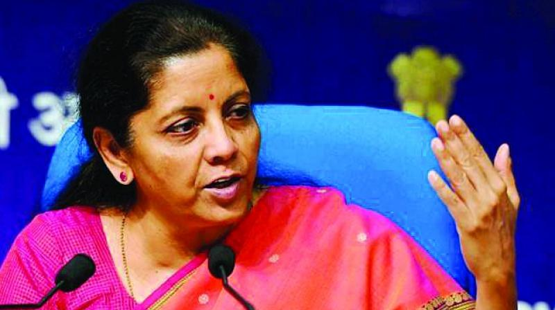 Finance Minister Nirmala Sitharaman. (Photo: File)