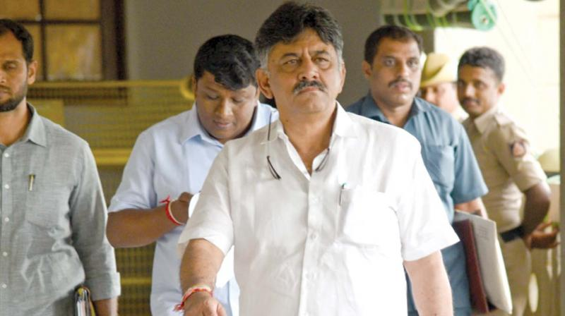Delhi High Court will continue hearing the bail plea of senior Congress leader D K Shivakumar on Monday. Shivakumar was arrested by Enforcement Directorate (ED) last month in connection with a money laundering case. (Photo: File)
